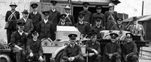 dock company wartime fire brigade