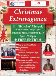 Christmas Extravaganza with St Nicholas Chapel @ St Nicholas Chapel